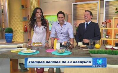 Evita trampas dañinas en tu desayuno con los consejos de Despierta América
