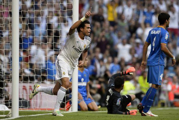 Fue otro portugués, Pepe, quien logró el empate parcial.