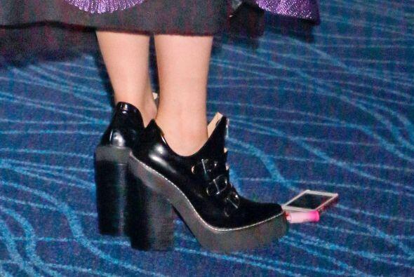 Y como era de esperarse, las zapatillas que eligió, tambié...