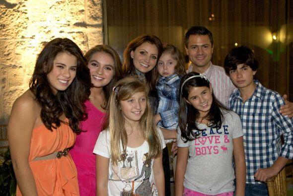La familia completa en los festejos más importantes. (Foto tomada...