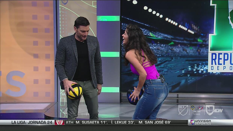 Marxa Mora hizo 100 puntos jugando tiro al blanco