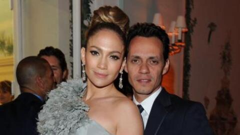 Jennifer Lopez y Marc Anthony antes de su separación