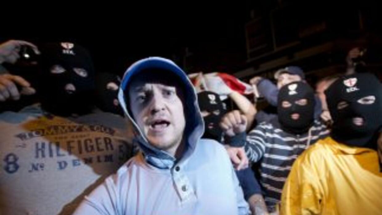 Grupos de extrema derecha reaccionaron ante el asesinato de un soldado e...