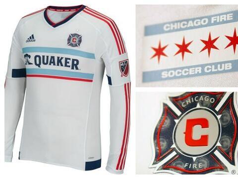 Chicago Fire tendrá una nueva camiseta de visitante en este 2015,...
