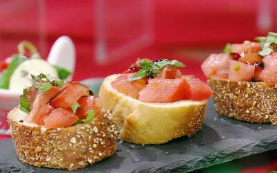 Prepara estos aperitivos y bocadillos en menos de 5 minutos, perfectos p...