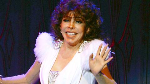 Verónica Castro ha revivido y regresó a los escenarios como las grandes