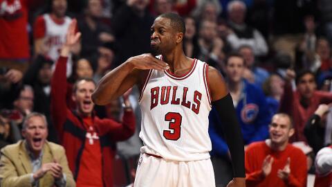Wade anotó un triple en los últimos segundos del juego para decretar la...