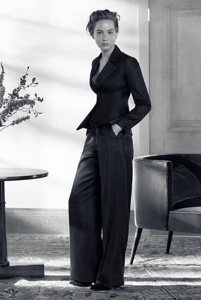 Jennifer Lawrence también robó suspiros con todas y cada una de las pose...