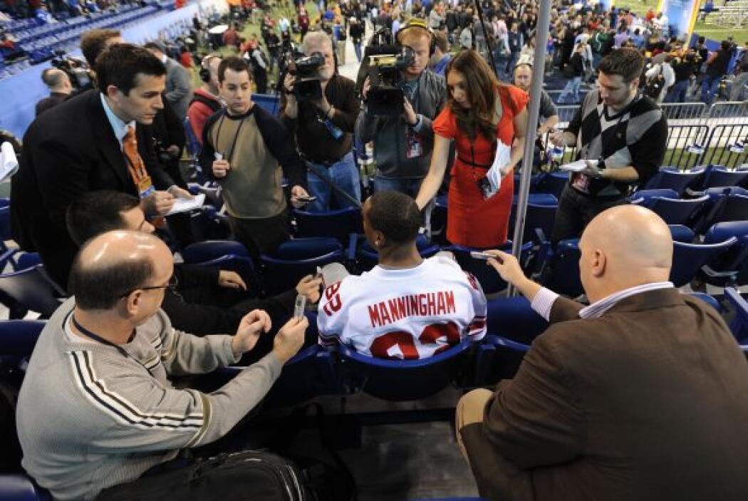 Cada año, previo al Super Bowl, se lleva a cabo el Media Day, donde todo...