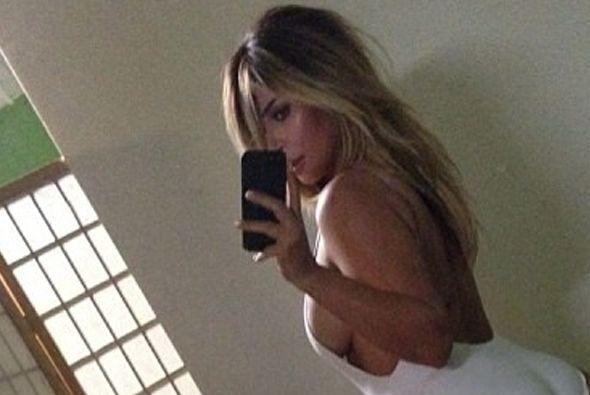 La Kardashian presumió su impresionante cuerpazo en su cuenta de Instagr...