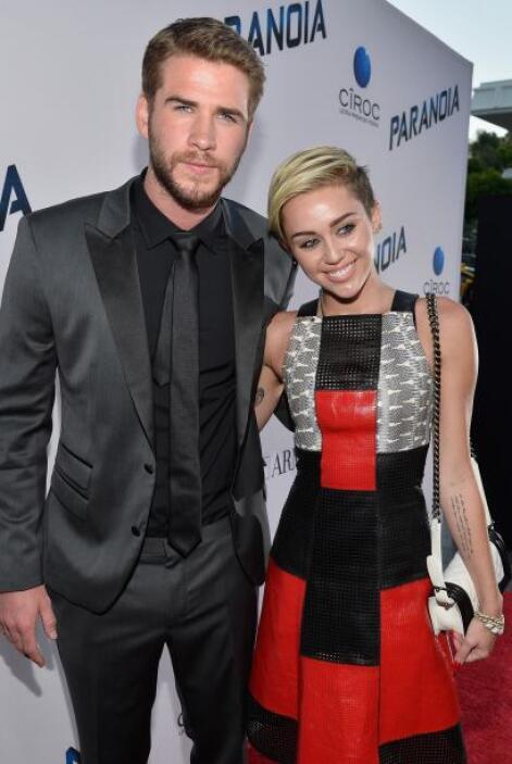 Y solo era cuestión de tiempo. Liam Hemsworth y Miley Cyrus estaban comp...