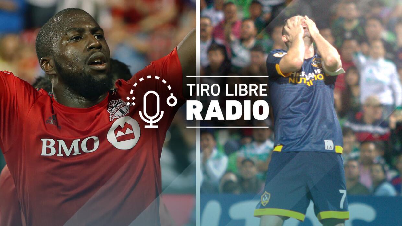 Podcast Tiro Libre Radio con Jozy Altidore y LA Galaxy