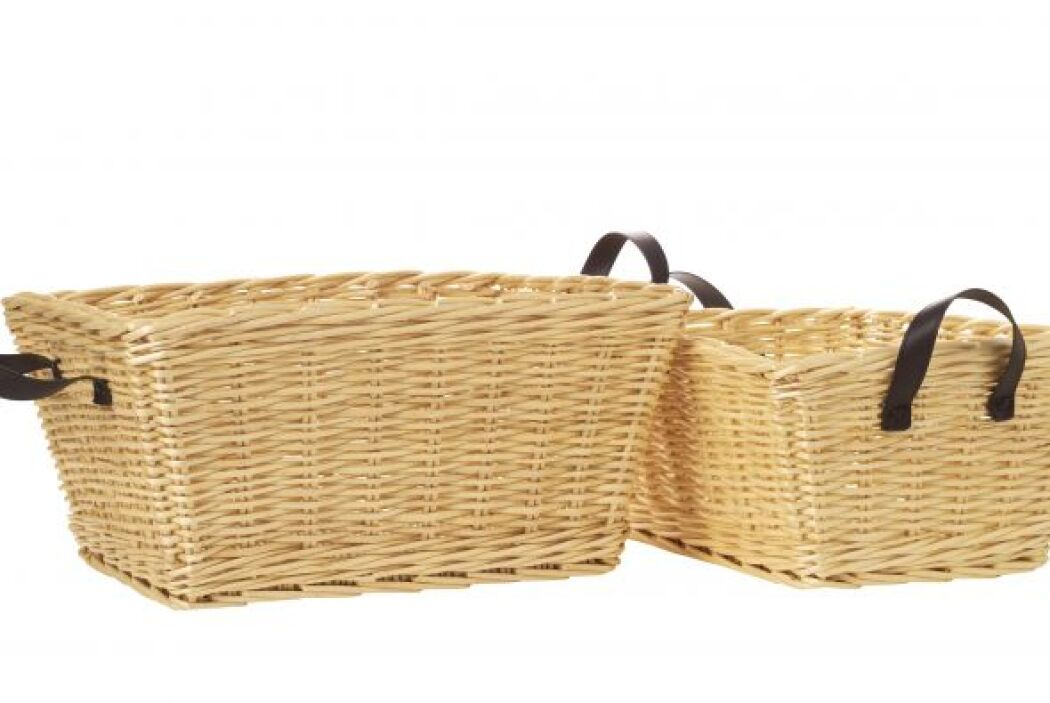 También puedes usar cestos para darle una renovada a tu baño colocando t...