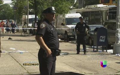Cacería en Nueva York contra un hombre que disparó contra dos hispanos