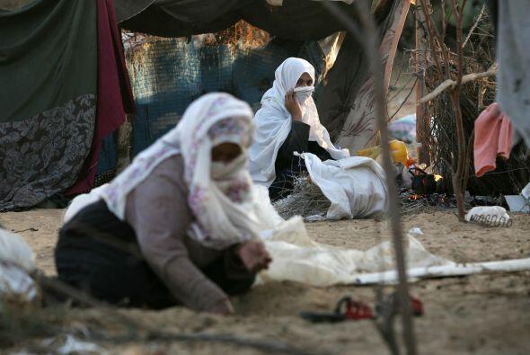 En Palestina, pese a que los hombres que cumplen una condena en prisi&oa...