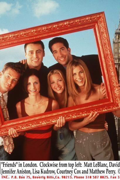 4.- Marcó una era con su participación en 'Friends'. M&aac...
