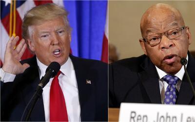 Tras ataque de Trump contra John Lewis, al menos 23 congresistas se nieg...