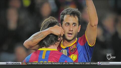 Víctor Vázquez, la historia de por qué dejó de ser el otro Messi del Bar...
