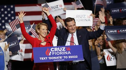 Daily Brief: Ted Cruz Names Carly Fiorina As His Running Mate