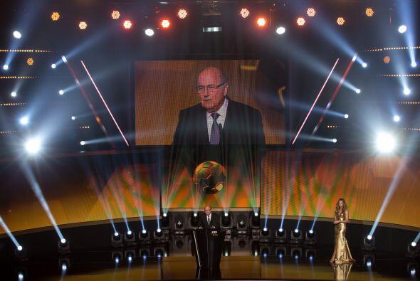 Joseph Blatter abrió el evento con un discurso enfocado a la paz dentro...