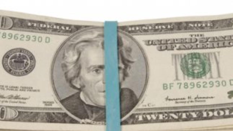 Fajo de billetes.
