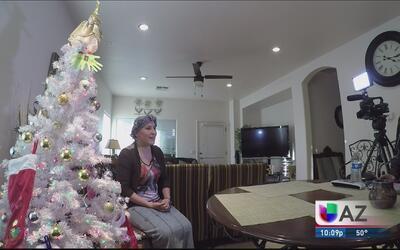 Mujer con cáncer de seno busca un milagro navideño