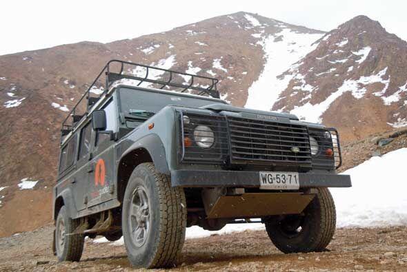 Pocos vehículos son tan confiables en lugares como Los Andes.