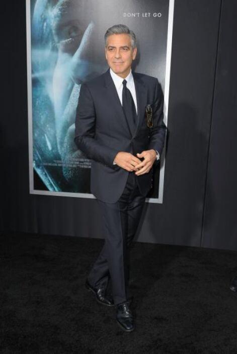 George Clooney, imposible que se vea mal.