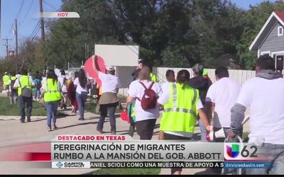 2º día de la peregrinación proinmigrante