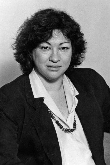 Sonia Sotomayor cuando fue elecra como Fiscal Auxiliar de Distrito repre...