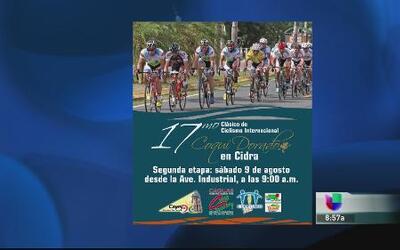Celebran el 17mo clásico de ciclismo en Cidra