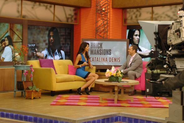 La guapa actriz colombiana Catalina Denis nos acompañó en el programa pa...