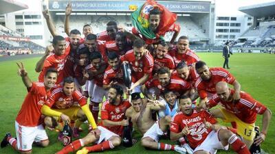 Pese a no estar en su estadio, las 'Águilas' festejaron el último título...