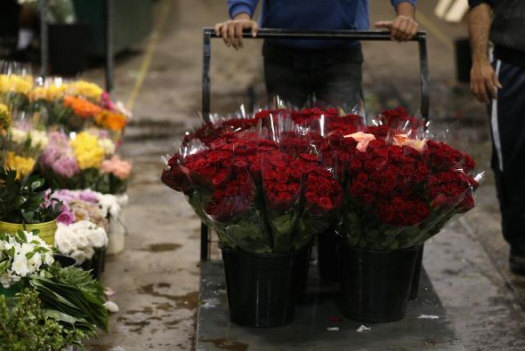 Desde las tradicionales rosas hasta las más exóticas flores, podían ser...