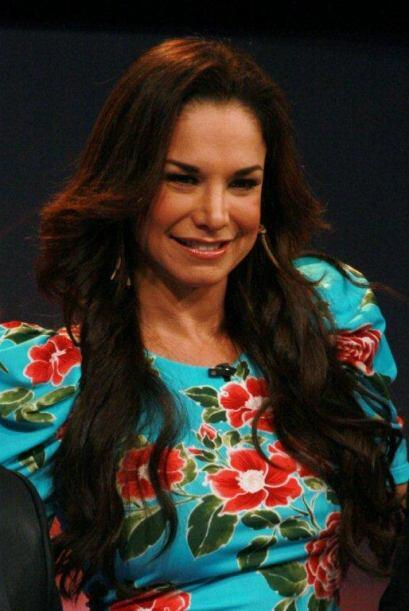 Se trató de la hermosa cubana Liz Vega que fue contratada por Gab...