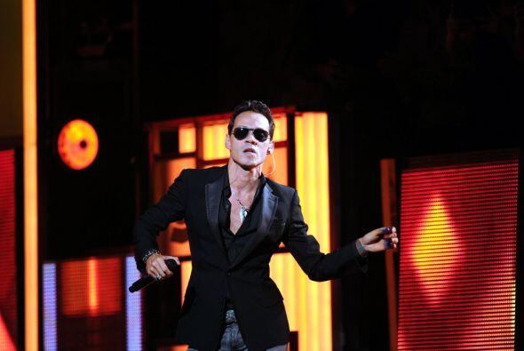En total, Marc Anthony se disputará con Carlos Vives frente a frente tre...