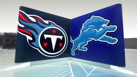 Semana 2 Highlights: Tennessee Titans vs. Detroit Lions
