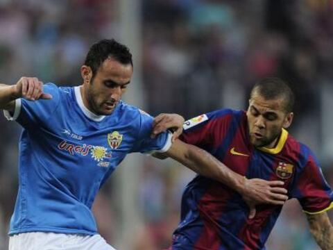 El Barcelona se enfrentó al Almería y el partido result&oa...
