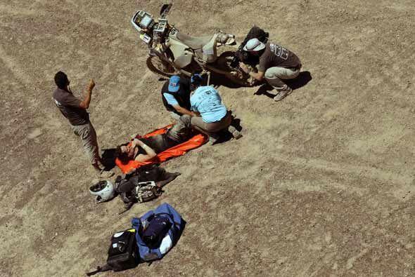 La Cordillera de Los Andes le hizo sentir su dureza a la piloto aficionada.