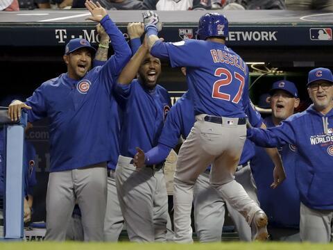 Los Cubs están a una victoria de la hazaña.