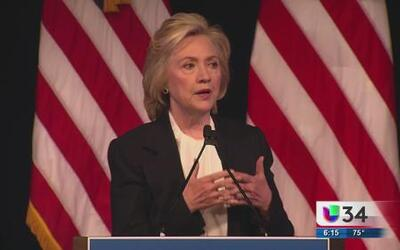 Representantes demócratas hablan de Hillary Clinton