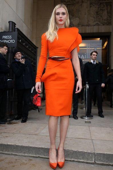 Otra 'fashionista' encantada de la vida por estar en Paris fue la actriz...