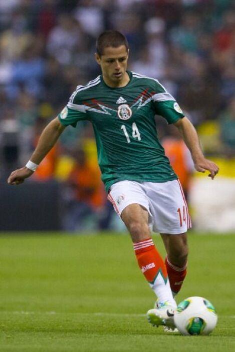 Javier Hernández.- El centro delantero más importante de la selección me...