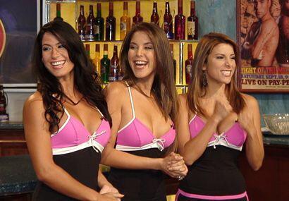 ¡Cuánta sensualidad y belleza en el Bar de la República Deportiva!