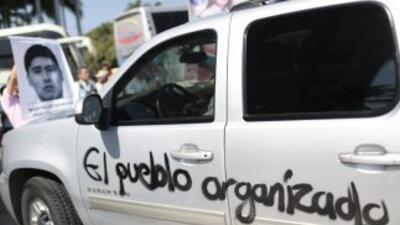Imagen del vehículo en el que se desplazaba el edil de Acapulco, Luis Wa...