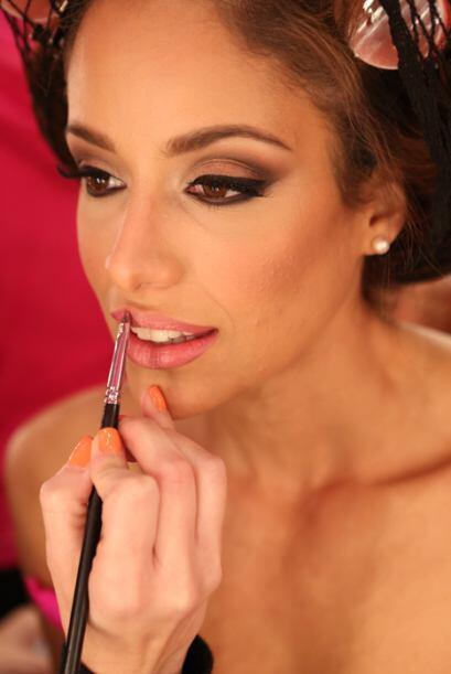 El trabajo de maquillaje que hacen con cada una, realmente es muy bueno.