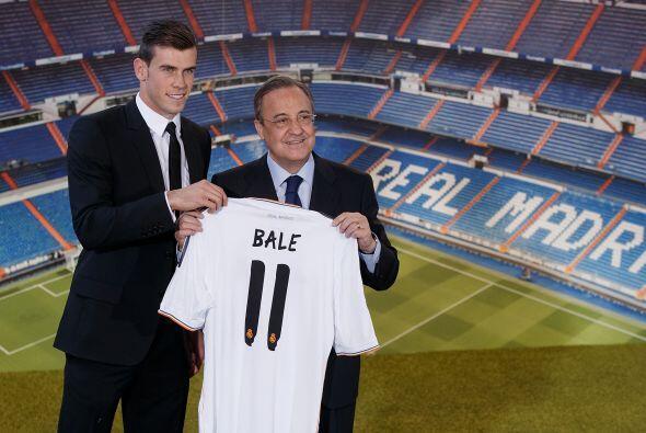 El galés Gareth Bale es el segundo fichaje más caro de la historia del c...