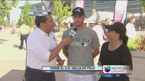 Miguel González, lanzador de los White Sox listo para enfrentar los retos