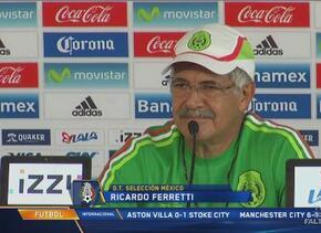 'Tuca' Ferretti: ''No tengo por qué dar explicaciones, necesito a los 23...