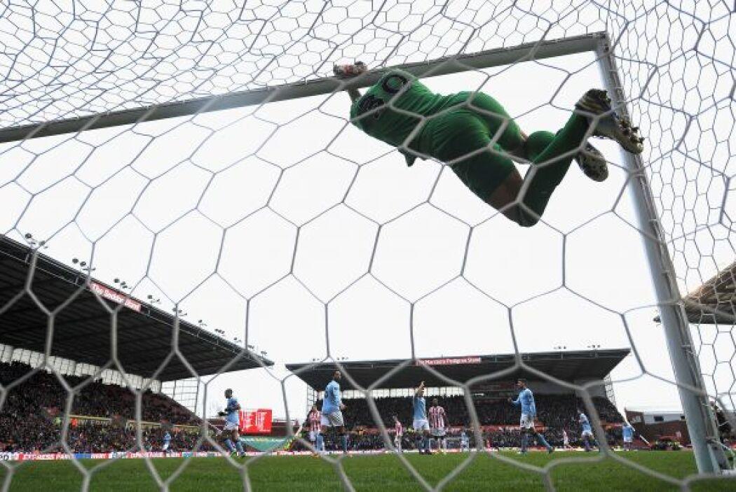 El City fue muy superior y el Stoke no tuvo muchas opciones.